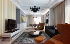 Living Room Design. © VANGUARD development. Design as it should be. Interior & architectural. NYC, LA, SF, Nationwide & Overseas.