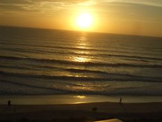 This is a picture that I took in Florida. There was nothing in the world like feeling the warmth of the sun as it's setting with the cool ocean breeze.