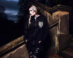 "CRMC X @wirosatan X @viewfromthecoffin ""Aske Til Aske"" Sweat Parka Available at www.crmc-clothing.co.uk | WE SHIP WORLDWIDE Models - @lusylogan Photography - @adrianianmcnab #darkwear #hood #blackwear #hoodie #viewfromthecoffin #altfashion #alternative #blackmetallogo #fashionstatement #fashiongram #fashionista #stylegram #blackmetal #menwithtattoos #winter #winterfashion #styles #style #alternativeguy #alternativeboy #alternativegirl #alternativeteen #igers #love #instagood #lusylogan"