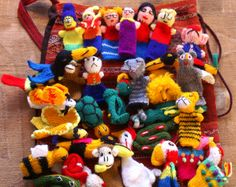 Small dolls from Bolivia