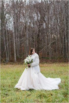 Christmas bride and Christmas wedding ideas.  By Annamarie Atkins