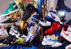 2ca05e39c4a6 Nike Jordan And Converse Commemorate NBA Playoffs With Massive Retro  Collection  thatdope  sneakers