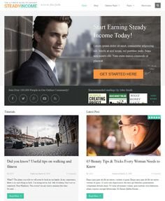 steadyincome best adsense ready theme