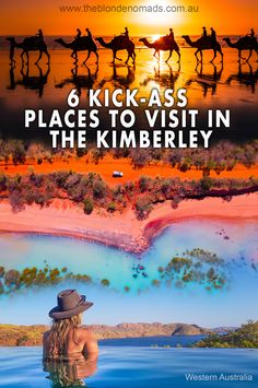 The Kimberley in WA is a must see! Full of epic locations, you'll no doubt leave covered in red dust & a full heart - Here are our top 6 kick-ass places. Kimberly Australia, Visit Australia, Australia Country, Western Australia, Beautiful Places To Visit, Places To See, Australian Road Trip, Australia Travel Guide, Road Trip Adventure