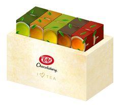 新茶の季節に最適キットカット ショコラトリーに厳選茶葉をたっぷり使用したアイ ラブ ティーシリーズが登場