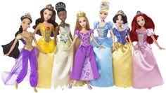 "Mattel ""Ultimate Disney Princess Collection"" Doll Set"