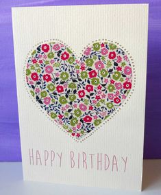 Liberty London Birthday Cards