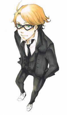 Tags: Anime, Fanart, Kuroshitsuji, Ronald Knox, Nishi Machi
