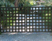 mid century driveway gate - Google Search