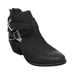 CINCH BLACK SUEDE women's bootie high dress - Steve Madden. they're perfecttt. exactly what i want