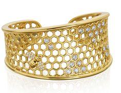 Gumuchian B collection cuff bracelet