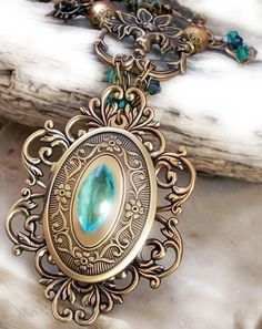 Emerald Dragon Locket Pendant