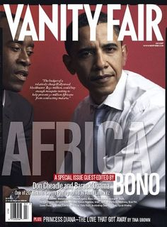 The July 2007 Africa Covers   Vanity Fair. I still have this one.