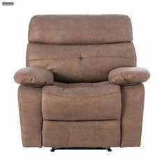new beige leather recliner lazy chair livingroom reclining furniture seat boy - Lazy Boy Leather Recliners