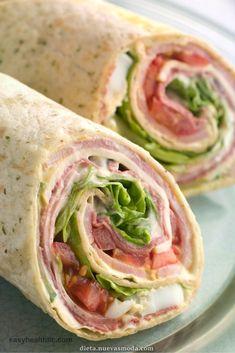 Increíble Roll-Up de tortilla desvaloración en carbohidratos  #carbohidratos #desvaloracion #tortilla
