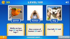 Tricky Questions - This app provides a refreshing concept, as well as some fun gameplay. In essence, it's one part word game to another part Pictionary. It will present you with a series of word-based cards, as well as a prompt. You analyze the pair together to figure out the intent. Once that's done, you simply tap the photo that completes the thought. We found a lot to love within the application's central idea. Click the image for our full review.