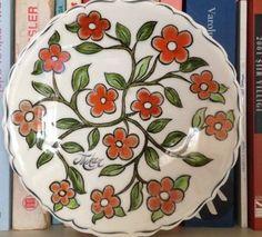 Çini Çiçekli Tabak my work