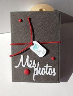 "Feebellescrap Tampons et matrices (dies) 4enSCRAP Mini album ""Mes Photos"" 4enCROP 2013"