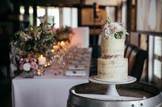 And delicious, too! Wedding Cake Rustic, Beautiful Wedding Cakes, Millbrook Resort, Wedding Cake Inspiration, Vows, New Zealand, Most Beautiful, Wedding Photography, Table Decorations
