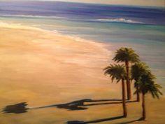 Wanda Wright Beach Painting