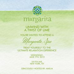 """Margarita"" Invitation, by BeautiControl, Paperless Post"