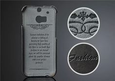 HTC One M8 hochwertige Lederhülle mit Kartenfächer auf der Hinterseite - spitzekarte.com