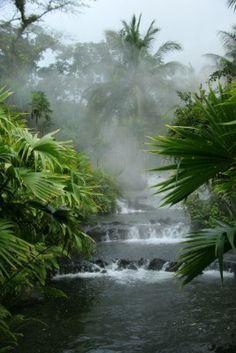 Arenal aguas termales - Costa Rica