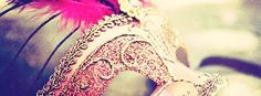 Pink Girly Photography | Click to view pink masquerade facebook cover photo