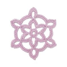 StitchFinder : Crochet Snowflake: Squall : Frequently-Asked Questions (FAQ) about Knitting and Crochet : Lion Brand Yarn