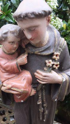 Antique French Religious Item Plaster Gesso by GabriellesGrandson
