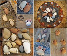 Crafting With Pebble Feet Ideas