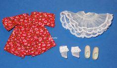 Vintage Tutti EUROPEAN SPIELKLEID Play Dress #8947 RARE !!! Near MINT - Missing!