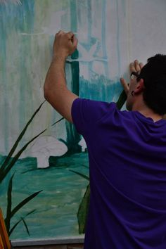 live painting.
