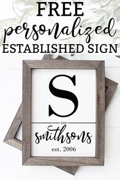 Family Established Signs Family Established Signs Laura Mom Envy Kids Home Life momenvy Wall Decor Wall Art and Print Ideas Family nbsp hellip wall art Home Decor Signs, Diy Signs, Wall Signs, Diy Wall Art, Framed Wall Art, Wall Art Decor, Wall Decorations, Home Wall Art, Wall Collage