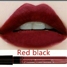 HP Best in Makeup Color Stay Lip Stain Amazing Color Stay Lip Stain Stick (Red Black) Sealed tube Makeup Lipstick