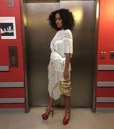 Tracee: One more pic of this dress.....but just wait because there is SO much more!! Tune in to @BlackGirlsRock this Tuesday, April 5 at 8p/7c on @BET #BlackGirlsRock