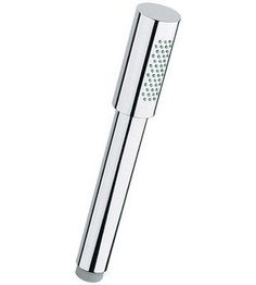 Grohe 28 341 Sena Single Function Hand Shower with SpeedClean Technology Starlight Chrome Showers Hand Showers Single Function