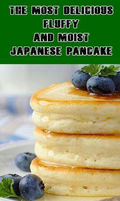 How To Make The Japanese pancake Easy Steps 34 cup 1 tbsp Flour 14 tsp Baking Soda 12 tsp Baking Powder Pinch of Salt 1 Egg Yolk 3 Egg Whites Pancakes From Scratch, How To Make Pancakes, Pancakes Easy, Pancakes For One, Japanese Fluffy Pancakes, Japanese Pancake, Crepes, Japanese Hot Cakes Recipe, Souffle Pancakes
