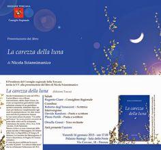 La carezza della luna: venerdì 16 gennaio la presentazione della silloge poetica di Nicola Sciannimanico a Firenze