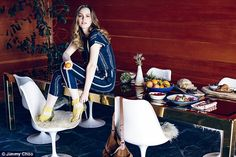 Gossip Girl's Leighton Meester is the star of a stylish new shoot with Jimmy Choo...