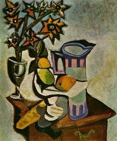 1936 Nature morte by Pablo Picasso.