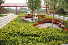Shanghai Houtan Park / Turenscape #landscape