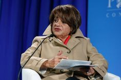 """""""For Egypt to advance, it has to go back to the slogan of the 1920s, which was 'Religion is for God and the homeland is for all'. Otherwise, there is no future."""" - Ms. Mona Makram-Ebeid, Egyptian Senator and Member of the Senate Constitutional Committee"""