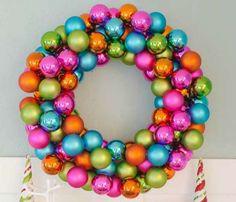 Cómo decorar con bolas de Navidad
