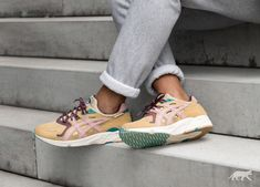 Asphalt Gold x Asics Gel DS