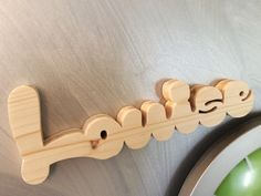 Prénom en bois LOUISE