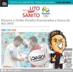 "#ElCartonDelDia para @PurakuraWeb""_ _ ULITO PERO SANITO"" @miseleccionmx#Chicharito #OribePeralta #TRIOlimpico"