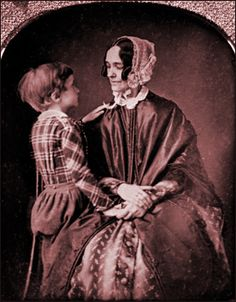 Jane Means Appleton Pierce (1806-1863), wife of U.S. President Franklin Pierce, was First Lady of the United States from 1853 to 1857.  Franklin, aged almost 30, married Jane, aged 28, on November 19, 1834.