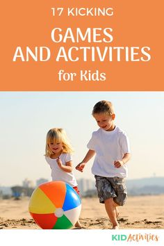 A collection of fun kicking games for kids. Great for on the playground, at the park, or in the backyard. #KidActivities #KidGames #ActivitiesForKids #FunForKids #IdeasForKids Outdoor Games For Kids, Fun Games For Kids, Games For Toddlers, Backyard For Kids, Backyard Ideas, Indoor Activities For Kids, Kid Activities, Kindergarten Activities, Summer Activities