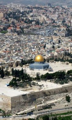 The Temple Mount . Jerusalem